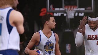 getlinkyoutube.com-NBA 2K16 - EPIC Star 3 Point Contest Ft. Stephen Curry, LeBron, Harden & MORE HD!