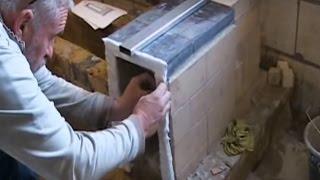 getlinkyoutube.com-Accumulating | Kitchen Stove | Rocket Mass Heater | & Massakachel...Peter van den Berg  developed++