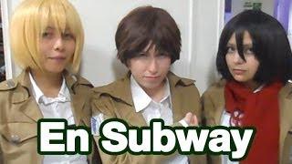 getlinkyoutube.com-El trío Shiganshina en Subway