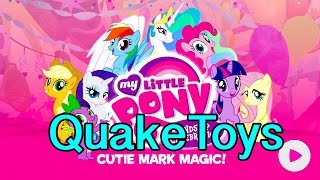 getlinkyoutube.com-My Little Pony Friendship Celebration Cutie Mark Magic App Game with MLP Pony Figures Scanning!