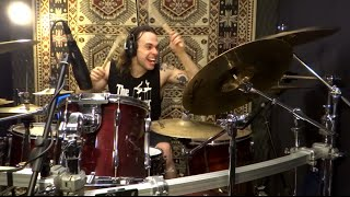 getlinkyoutube.com-Avenged Sevenfold Drum Audition Video - Beast And The Harlot - Betto Cardoso