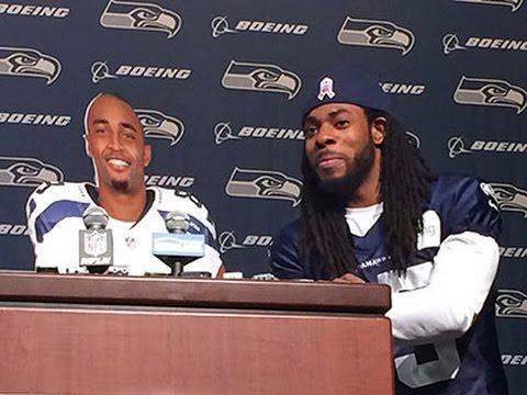 Raw: Sherman, Baldwin Dig at NFL