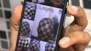 getlinkyoutube.com-Corte de cabelo com navalha [Agora é Hora - 02.04.15]