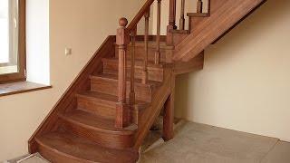 getlinkyoutube.com-Изготовление деревянной лестницы  часть 1
