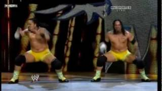 The Usos Entrance on Raw 12/19/11