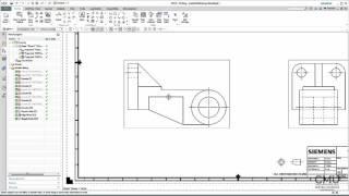 getlinkyoutube.com-NX10 Mechanical Drawing