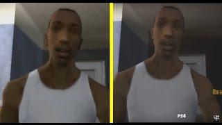 getlinkyoutube.com-GTA: San Andreas PS2 vs PS4 Graphics Comparison