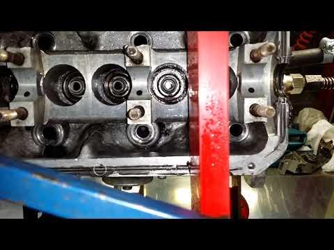 Опрессовка ГБЦ а/м VW T4 1.9 TDi (трещина у болта ГБЦ)