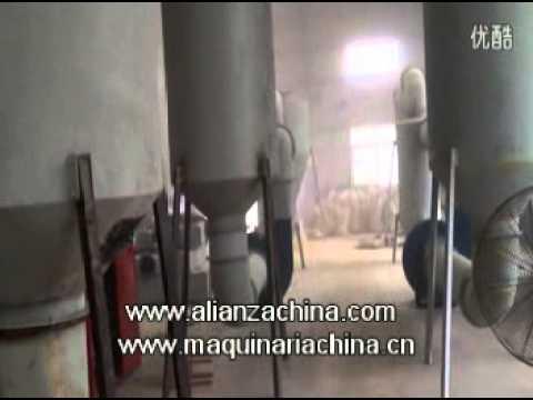 Secadora para fabricar pellets de aserrin y briqueta