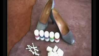 getlinkyoutube.com-Teñir el calzado con Color Dye de Tarrago (1ª Parte)