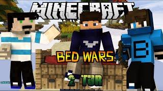 getlinkyoutube.com-2 TUR - Bed Wars - Minecraft Yatak Savaşları
