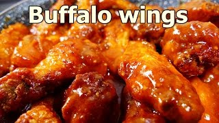 getlinkyoutube.com-TANGY BUFFALO CHICKEN WINGS | Tasty and Easy food recipes for dinner to make at home