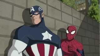 getlinkyoutube.com-Ultimate Spider Man Ep 23   Clip 1