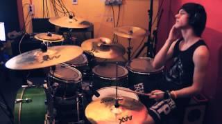 getlinkyoutube.com-Alesana - Apology   Drum Cover by Chris