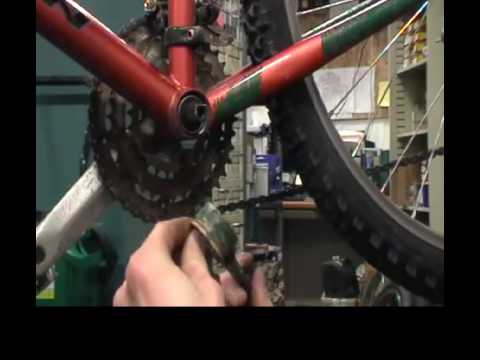 Sealed cartridge Bottom Bracket, crankset, and pedal removal/installation with Hogan