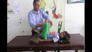 getlinkyoutube.com-Dyskinetic (Athetoid) Cerebral Palsy : Physiotherapy Technique-Part 1