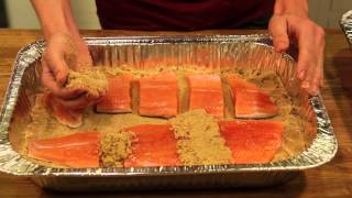 getlinkyoutube.com-How to brine and smoke your own salmon!