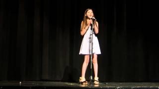 "getlinkyoutube.com-Maddi singing ""Let it Go"" from Frozen"