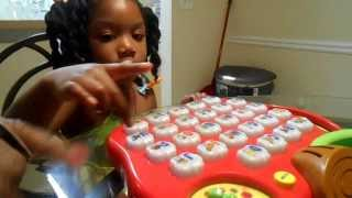 getlinkyoutube.com-Lil Coriana Learning Using The  Alphabet Apple