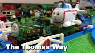 """トーマス プラレール ガチャガチャ トーマスりゅう Tomy Plarail Thomas """"The Thomas Way"""""""