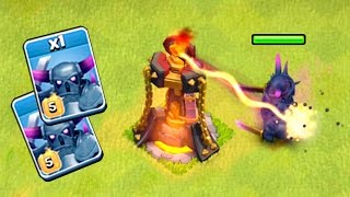 getlinkyoutube.com-PEKKA NIVEL 5 VS. TORRE INFERNO NIVEL 4! QUEM GANHA? CLASH OF CLANS
