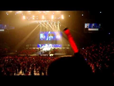 20110423 JYJ World Tour Concert in Taipei Part 24b Final: In Heaven & Ending