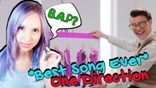 ONE DIRECTION - BEST SONG EVER MV REACTION/РЕАКЦИЯ | ARI RANG + width=