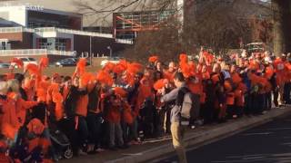 getlinkyoutube.com-Thousands show up to welcome Clemson home from National Championship