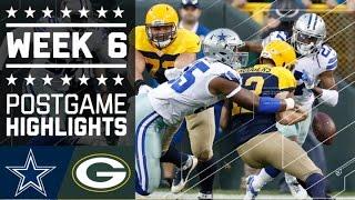 flushyoutube.com-Cowboys vs. Packers | NFL Week 6 Game Highlights