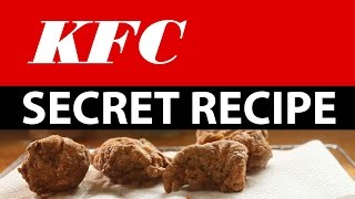 getlinkyoutube.com-KFC Secret recipe accidentally revealed!  Watch how to make it!
