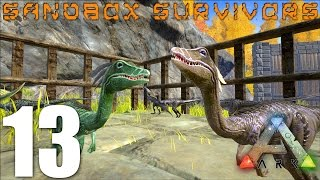 getlinkyoutube.com-ARK: Survival Evolved - COMPY ARMY!  Breeding and Fighting  - S1EP13 Gameplay