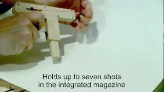 getlinkyoutube.com-Wood Toy Gun demonstration for Instructable