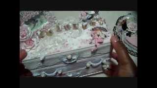 getlinkyoutube.com-Shabby Chic Dresser - Altered Boxes