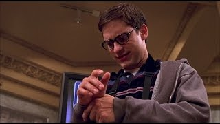 Spider Man (2002) - Columbia University|Science Department|Tour scene (1080p) FULL HD