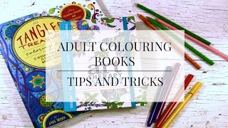 getlinkyoutube.com-ADULT COLOURING BOOKS | TIPS AND TRICKS