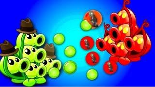 getlinkyoutube.com-Plants vs Zombies 2 Fan Made Pea Pod vs 19 x Zombies: Showcase