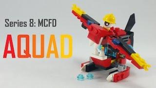 getlinkyoutube.com-How To Build   LEGO Mixels   Series 8   41564 Aquad