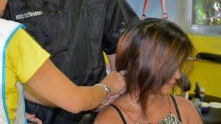getlinkyoutube.com-Girl short bobcut at the barber