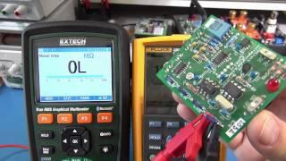 getlinkyoutube.com-Extech GX900 vs Fluke 287 Graphical Multimeter Review - Pt1