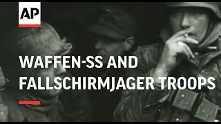 getlinkyoutube.com-WWII: Waffen-SS and Fallschirmjager troops in action - 1944