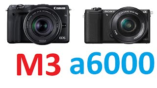getlinkyoutube.com-Canon EOS M3 vs Sony α5100