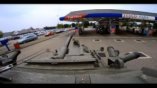 getlinkyoutube.com-Going to the petrol station in a Tank to fill up