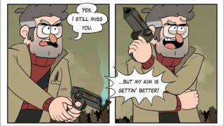 getlinkyoutube.com-Gravity Falls Comic- Its Funny because Bill is Terrible