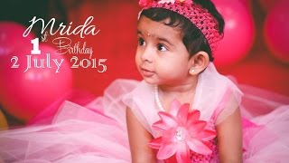 getlinkyoutube.com-Mrida 1st Birthday Cinematic Video by Satya Chinnam Photography || +91 9177254234