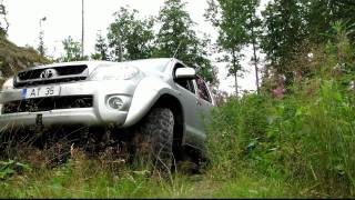 getlinkyoutube.com-Arctic Trucks Finland Toyota Hilux AT35 Summer