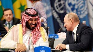 G20 Zirvesi'nde Putin ile Suudi Prens Selman'dan samimi tokalaşma