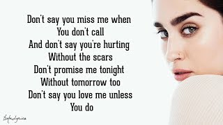 Don't Say You Love Me - Fifth Harmony (Lyrics) width=