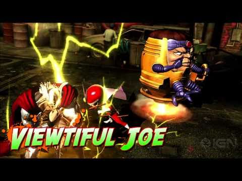 Marvel vs. Capcom 3: Viewtiful Joe Gameplay Montage