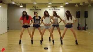 getlinkyoutube.com-EXID 'Up & Down' mirrored Dance Practice