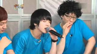 getlinkyoutube.com-Kwang Hee from ZE A   Jung Yong Hwa from CNBLUE sing Gohae b